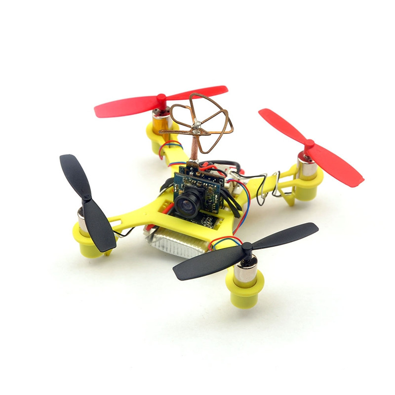 Eachine Tiny QX90C 90mm Micro FPV Racing Quadcopter Based On F3 EVO Brushed Flight Controller BNF - <b>Spektrum</b> - SNHE