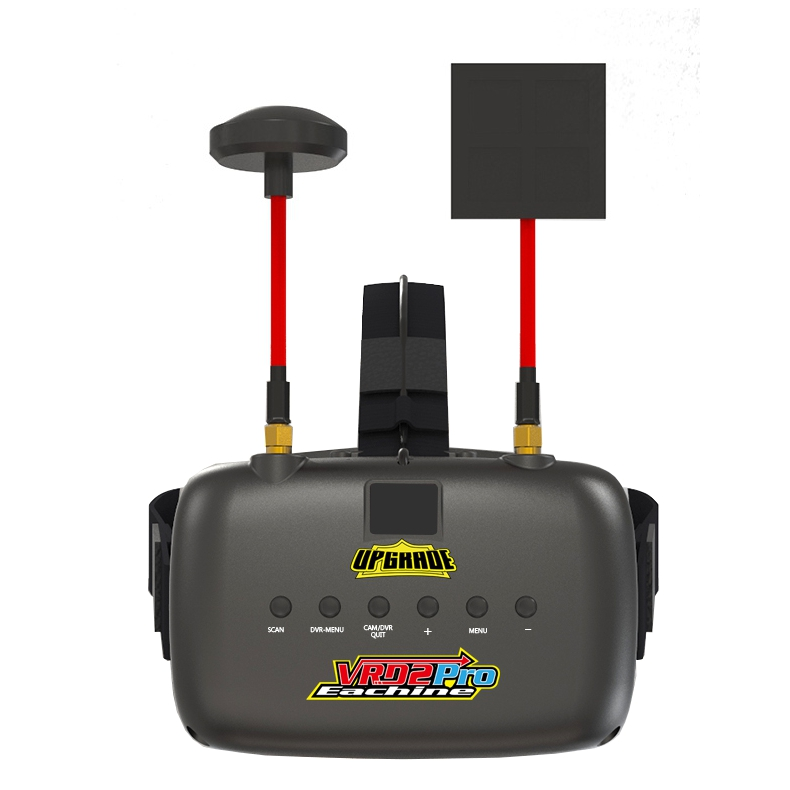 Eachine VR D2 Pro 5 Inches 800*480 40CH 5.8G Diversity FPV Goggles w/ DVR Lens Adjustable - SNHE