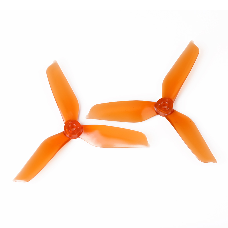DYS 5042 3-Blade Translucent Props (CW/CCW) 1 Pair (Orange) - SNHE