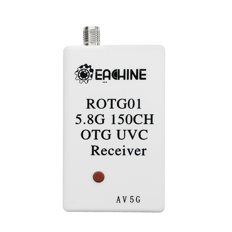 Eachine ROTG01 UVC OTG 5.8G 150CH Full Channel FPV Receiver For Android Mobile Phone Smartphone Which Support UVC OTG Only - SNHE
