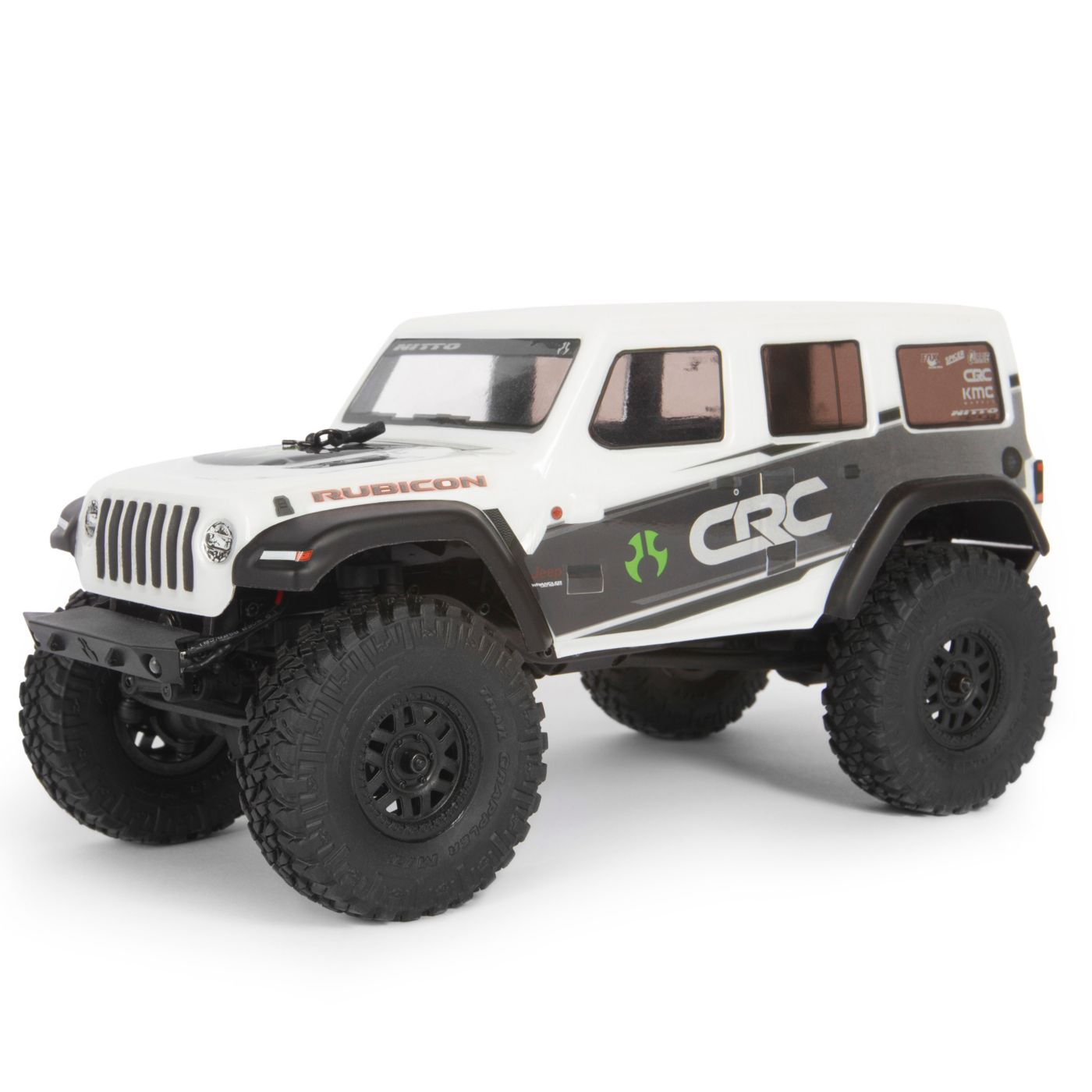 Axial Racing 1/24 SCX24 2019 Jeep Wrangler JLU CRC Rock Crawler 4WD RTR, White