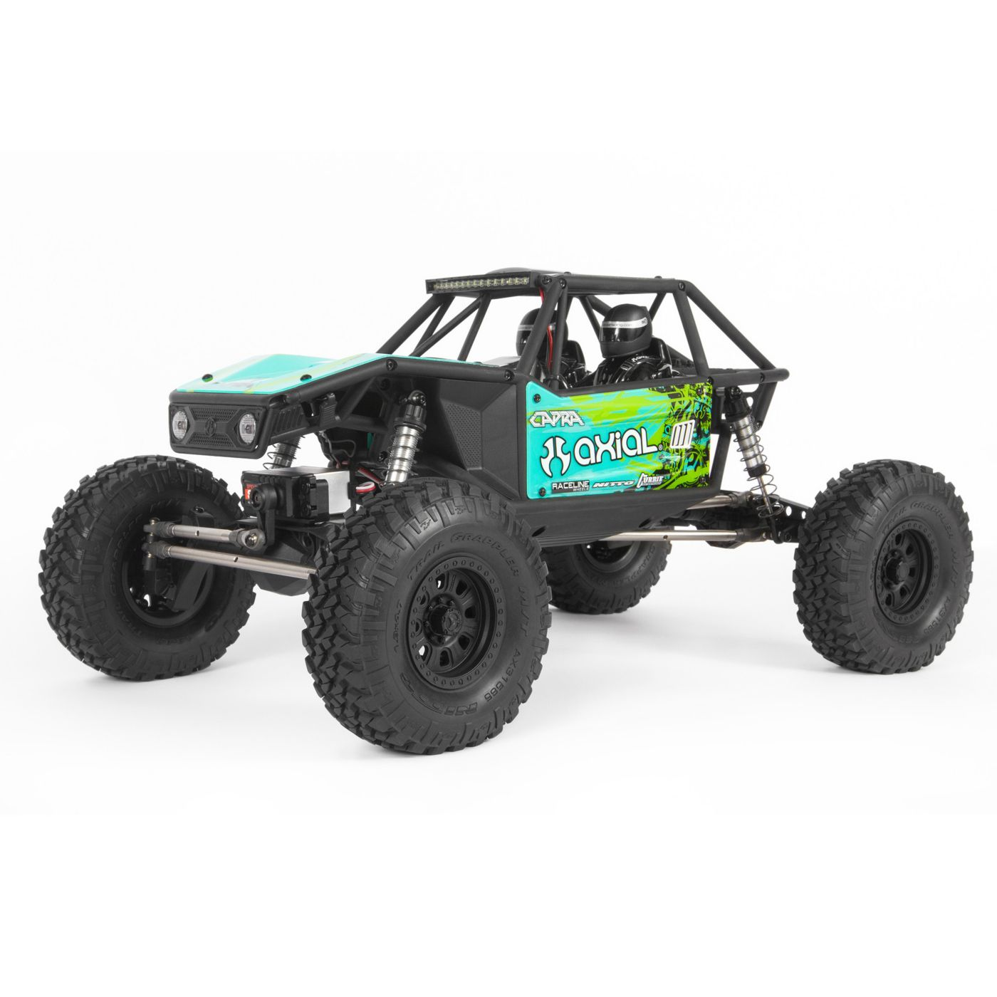 Axial Racing 1/10 Capra 1.9 Unlimited 4WD RTR Trail Buggy, Green
