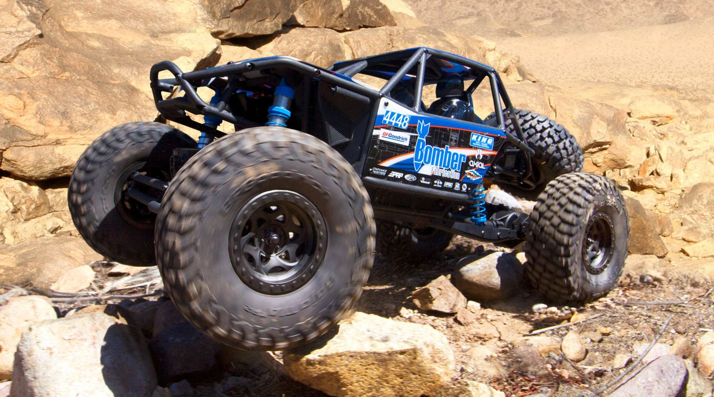 Axial Racing 1/10 4WD RR10 Bomber Electric Rock Racer RTR