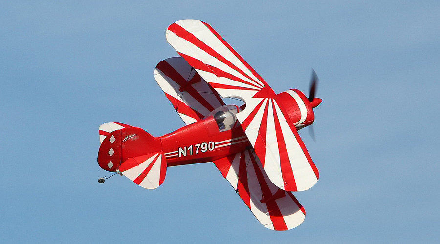 E-flite UMX� Pitts S-1S BNF Basic with AS3X� Technology - SNHE
