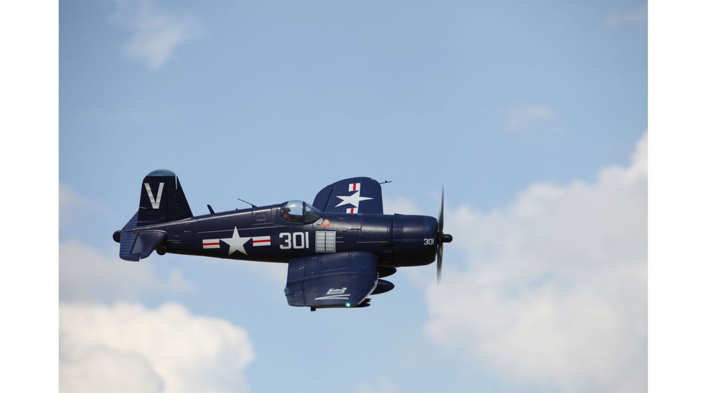 FMS F4U Corsair PNP, 1700mm: Blue - SNHE