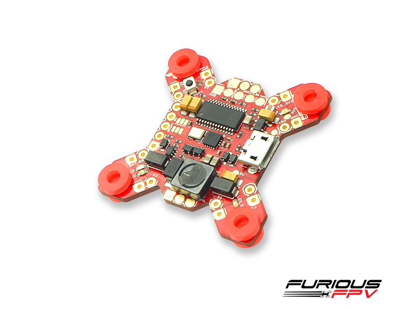 FURIOUS FPV FORTINI F4 OSD 32Khz Flight Controller - SNHE