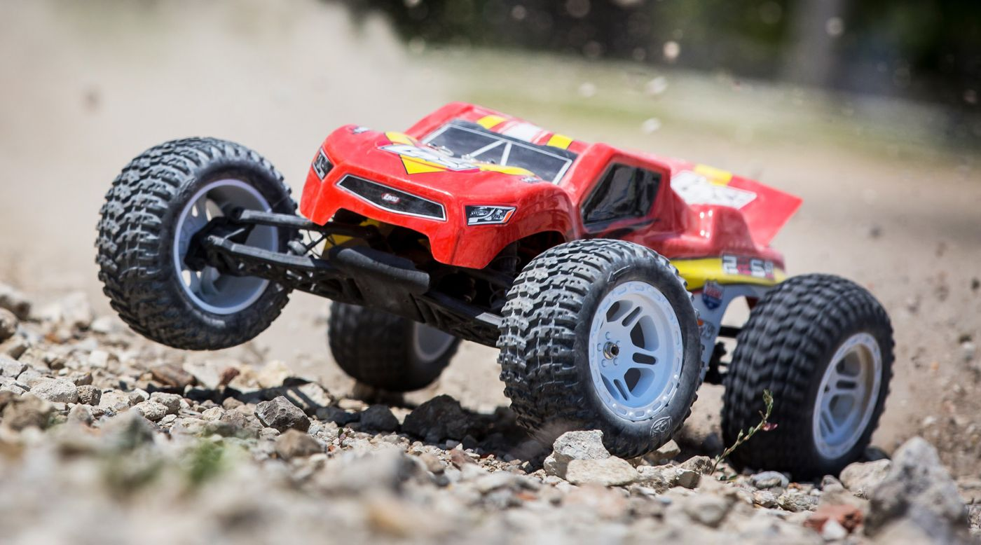Losi 1/10 22S ST 2WD Brushless RTR with AVC: Red/Yellow