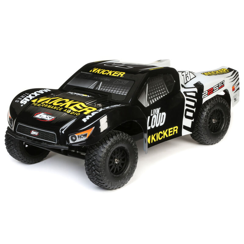Losi 1/10 22S 2WD SCT Brushed RTR, Kicker