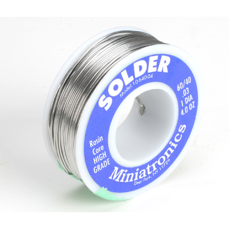 Rosin Core Solder 60/40, 4oz - SNHE