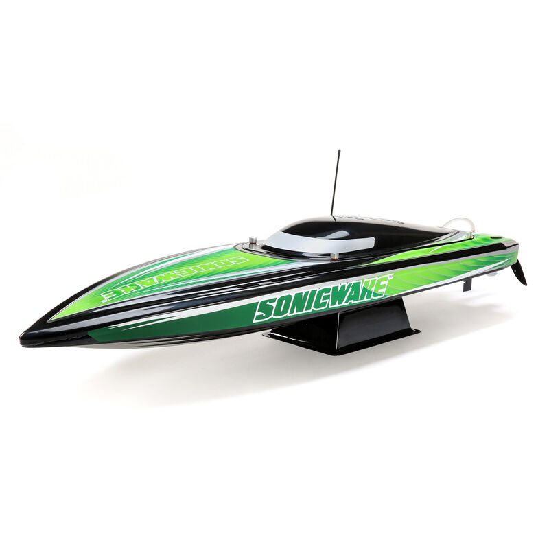 "Proboat Sonicwake 36"" Self Righting Brushless Deep-V RTR"