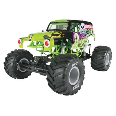 Axial 1/10 SMT10 Grave Digger Monster Jam Truck 4WD RTR - SNHE