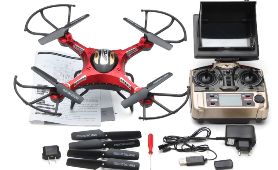 JJRC H8D 6-Axis 2.4Ghz Gyro RTF RC FPV Quadcopter Helicopter Drone with 5.8G 2MP HD Camera - SNHE